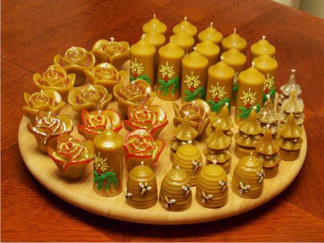 Unikatne svijeće od pčelinjeg voska